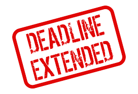 Submission Deadline Extended
